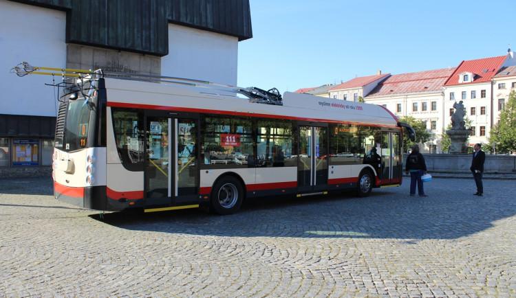 Nové parciální trolejbusy v Jihlavě