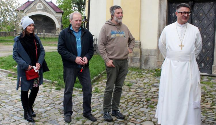 Věž a ochoz kostela sv. Jakuba v Jihlavě je opět otevřený