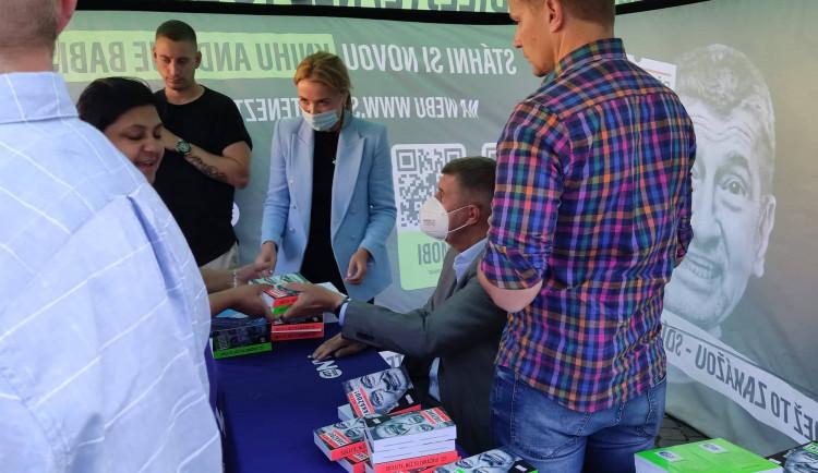 Andrej Babiš, kampaň v Jihlavě